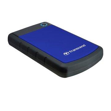 Transcend 創見StoreJet 25H3 軍規防震 2TB 2.5吋 外接硬碟-藍(星光折扣)
