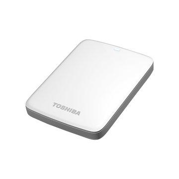 TOSHIBA 東芝 Canvio Connect V7 1.5TB 2.5吋 外接硬碟-白