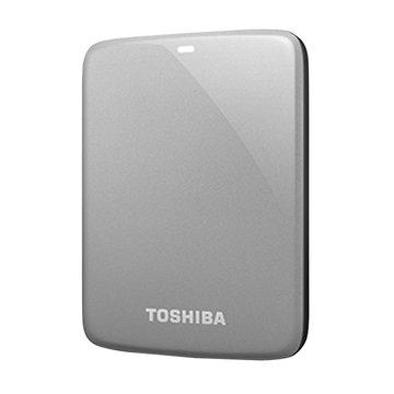 TOSHIBA 東芝 Canvio Connect V7 1.5TB 2.5吋 外接硬碟-銀