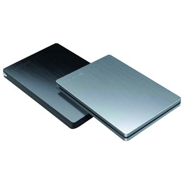 TOSHIBA 東芝Canvio Slim 1TB 2.5吋 外接硬碟-黑