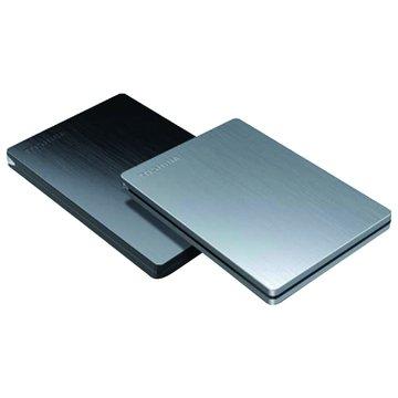 TOSHIBA 東芝Canvio Slim 1TB 2.5吋 外接硬碟-銀