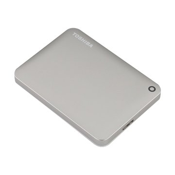 TOSHIBA 東芝 Canvio ConnectII V8 1TB 2.5吋 外接硬碟-銀