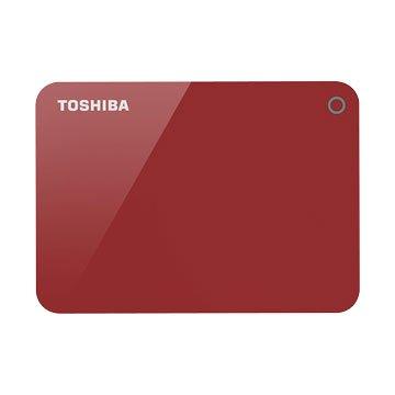TOSHIBA Canvio Advance  V9 1TB 2.5吋 外接硬碟-罌紅