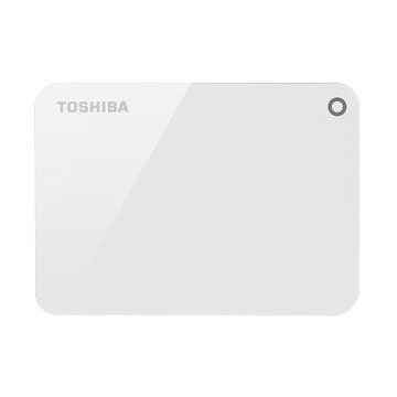 TOSHIBA Canvio Advance  V9 2TB 2.5吋 外接硬碟-雪白