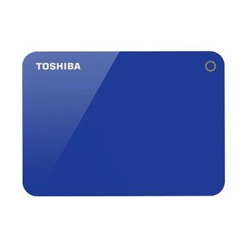 TOSHIBA Canvio Advance  V9 2TB 2.5吋 外接硬碟-寶藍