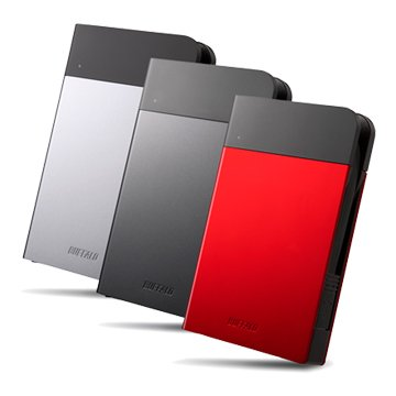 Buffalo 巴比祿MiniStation PZF 1TB 2.5吋 外接硬碟-紅