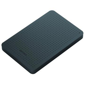 Buffalo 巴比祿MiniStation PCF 1TB 2.5吋 外接硬碟-銀