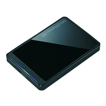 Buffalo 巴比祿 HD-PCTU3 1TB 2.5吋 外接硬碟-鏡面黑