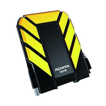 ADATA 威剛HD710 軍規防震防水 1TB 2.5吋 外接硬碟-黃