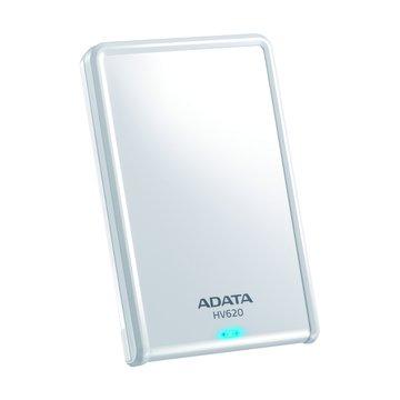 ADATA 威剛HV620 1TB 2.5吋 外接硬碟-白