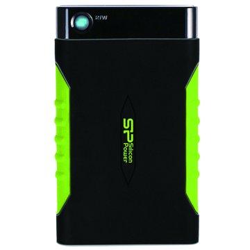 SILICON POWER A15 防震 1TB 2.5吋 外接硬碟-黑