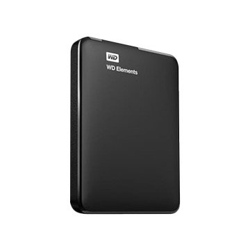 WD 威騰 Elements 1TB 2.5吋輕薄 外接硬碟(WESN)-黑