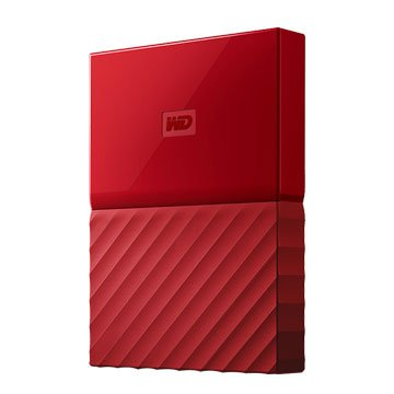 WD My Passport WESN 4TB 2.5吋 行動硬碟-紅