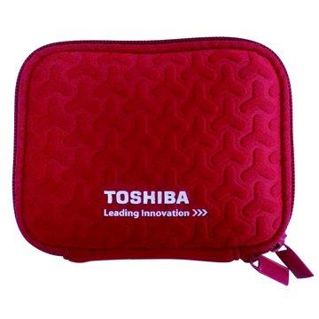 TOSHIBA 東芝 精美硬碟保護包-紅色