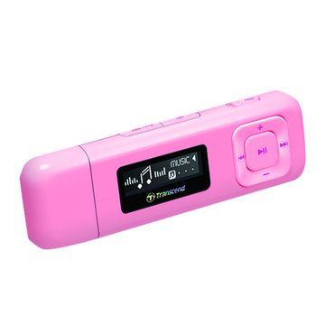 Transcend 創見 創見 MP330 4G 粉紅 MP3 (福利品出清)