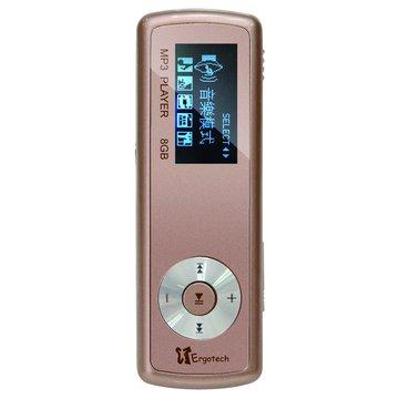 Ergotech 人因UL430C0 8G 蜜糖咖啡 MP3