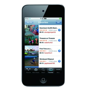 APPLE 蘋果 iPod Touch 8G 黑(1010)(4th GEN)(福利品出清)