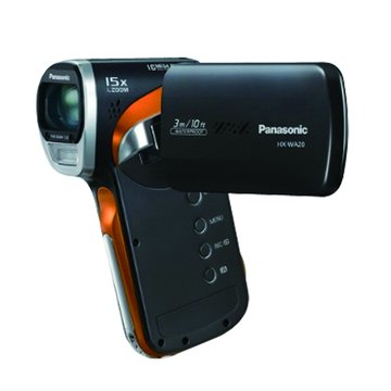 Panasonic 國際牌 HX-WA20 防水數位攝影機(黑)