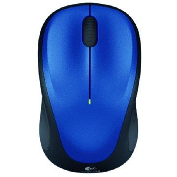 Logitech 羅技 M235 Unifying無線光學滑鼠(藍)