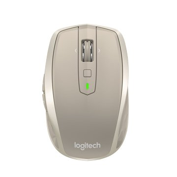 Logitech 羅技 MX Anywhere 2 無線行動滑鼠(銀河白)