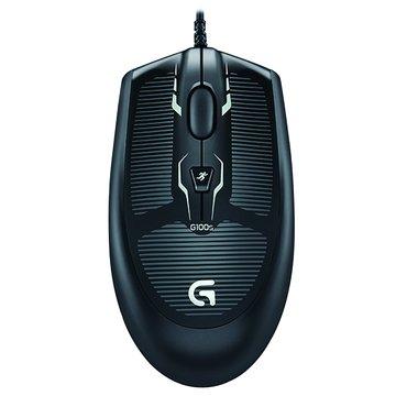 Logitech 羅技G100s遊戲滑鼠/USB(黑)