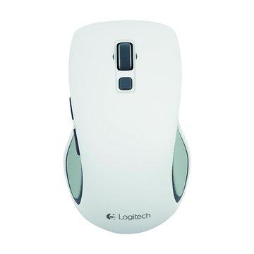 Logitech 羅技M560無線滑鼠(白)