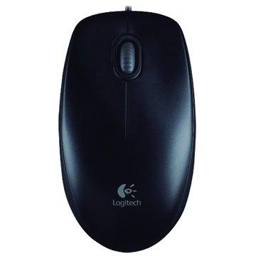 Logitech 羅技B100有線光學鼠/USB