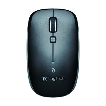 Logitech 羅技M557藍牙滑鼠(鐵灰黑)