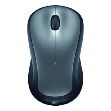 Logitech 羅技M310t無線滑鼠(銀黑)