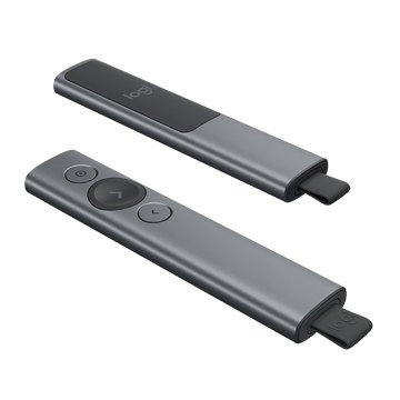 Logitech 羅技Spotlight簡報器/藍芽/USB(質感灰)