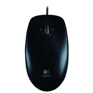 Logitech 羅技 黑/M100光學滑鼠/USB
