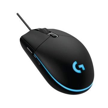 Logitech 羅技G102 Prodigy 電競滑鼠/USB(黑)