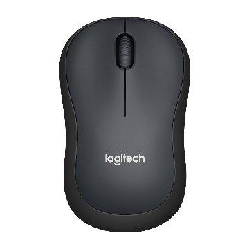 Logitech 羅技 M221靜音無線滑鼠(黑)