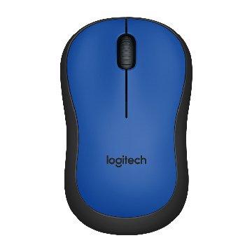 Logitech 羅技 M221靜音無線滑鼠(藍)