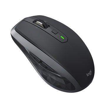 Logitech MX Anywhere2S藍芽無線滑鼠/USB(黑)