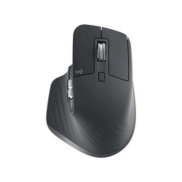 Logitech 羅技MX Master 3無線滑鼠/USB.藍芽(黑)
