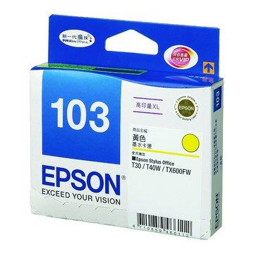 EPSON 愛普生T103450 黃色墨水匣
