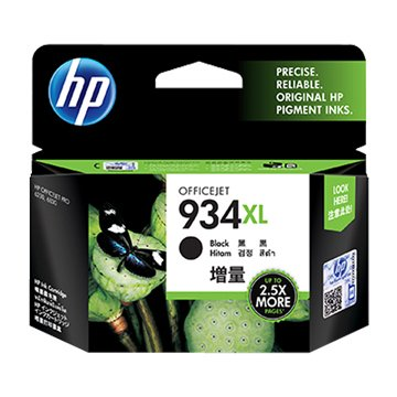 hp 惠普C2P23AA(934XL) 黑色墨水匣