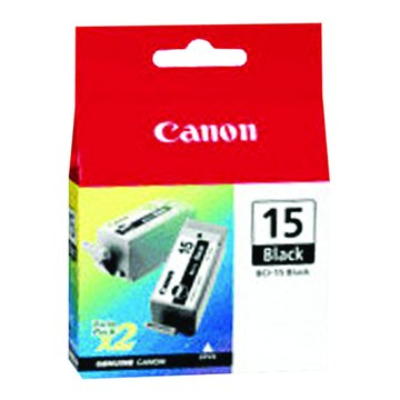 Canon 佳能BCI-15BK(2入) 黑色墨水匣