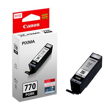 Canon 佳能PGI-770 PGBK 黑色墨水匣