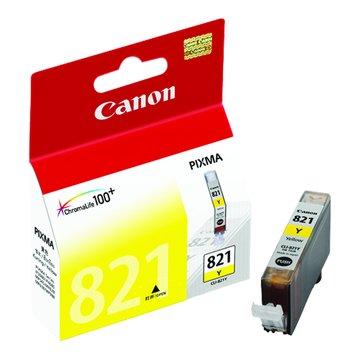 Canon 佳能CLI-821Y. 黃色墨水匣