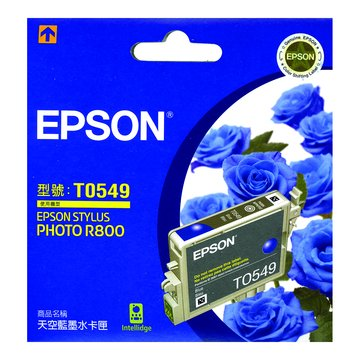 EPSON 愛普生S054950 淺藍色墨水匣
