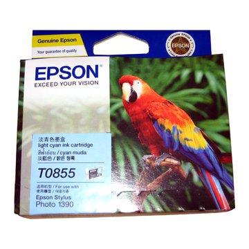 EPSON 愛普生T122500/T085500(85N) 淡藍色墨水匣