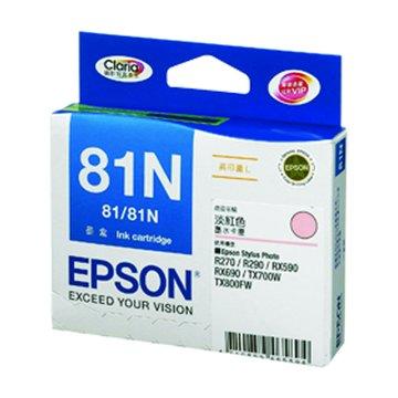 EPSON 愛普生T111650(81N XL) 淡紅色墨水匣