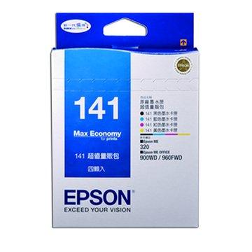 EPSON 愛普生T141650 黑/紅/黃/藍色墨水匣