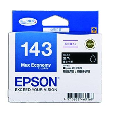 EPSON 愛普生T143150(XL) 黑色墨水匣