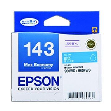 EPSON 愛普生T143250(XL) 藍色墨水匣