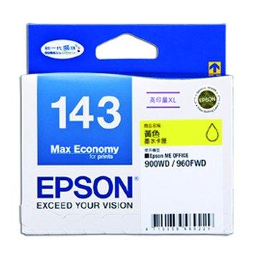 EPSON 愛普生T143450(XL) 黃色墨水匣