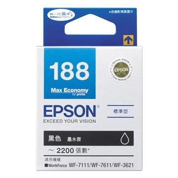 EPSON 愛普生T188150 黑色墨水匣
