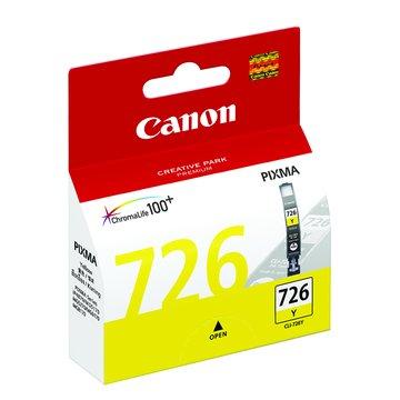 Canon 佳能CLI-726Y 黃色墨水匣